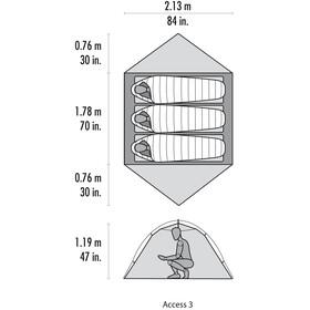 MSR Access 3 - Tente - vert/olive